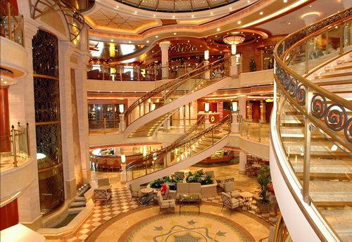for The world cruise ship interior